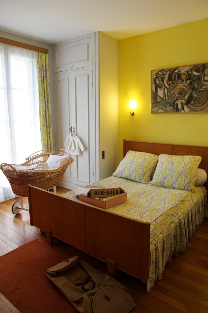 Visite de l'appartement temoin au Havre - la Chambre