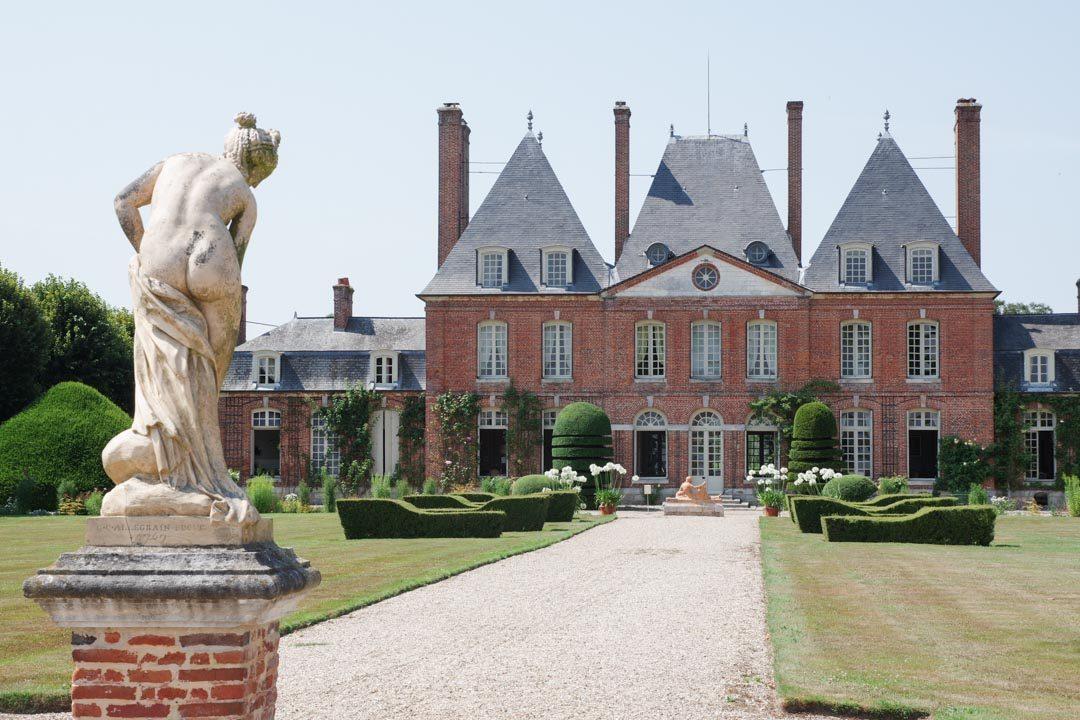 Le Chateau de Mesnil Geoffroy en Seine Maritime