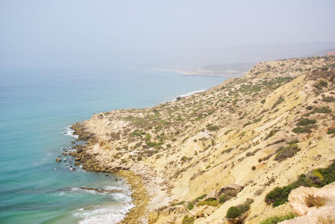 la cote atlantique entre Essaouira et Agadir