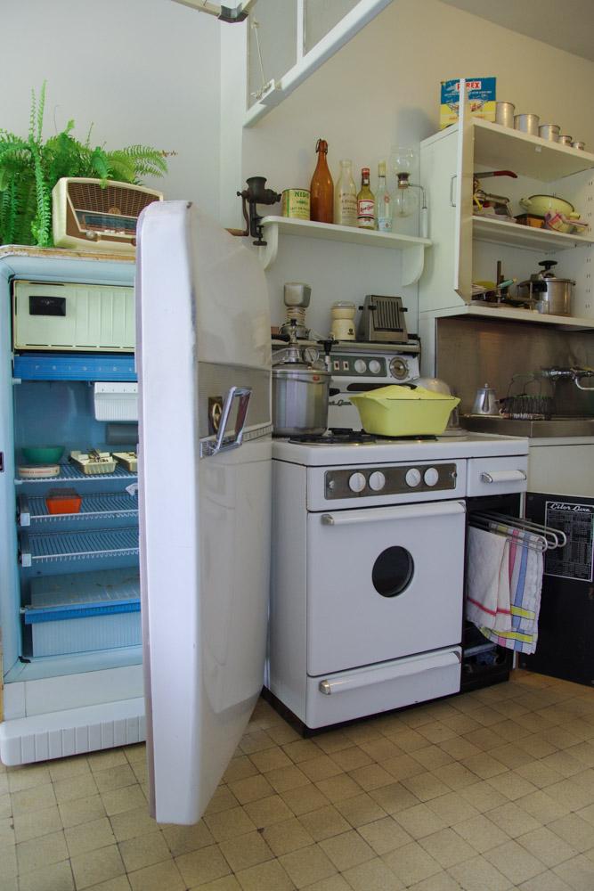 Visite de l'appartement temoin au Havre - la cuisine