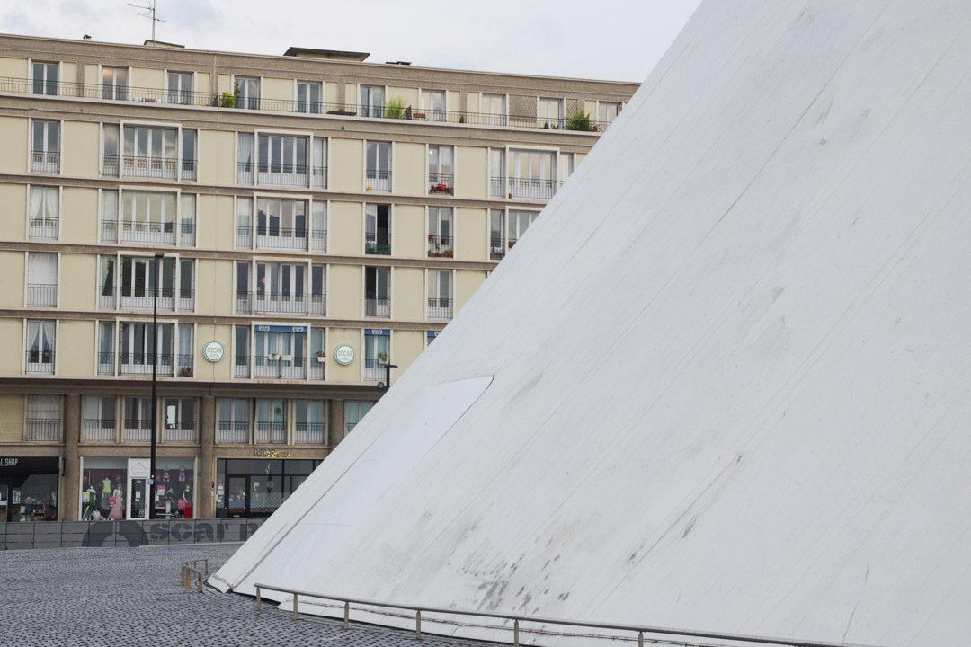 Exterieur de Oscar Hotel au Havre