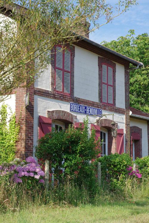 ancienne gare de bordeaux-bénouville