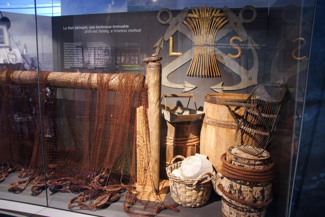 visite du musée des pecheries à Fecamp