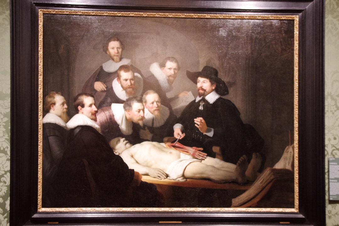 La Leçon d'Anatomie par Rembrandt