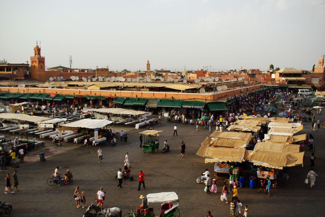 La Place Jemaa El Fna - Marrakech