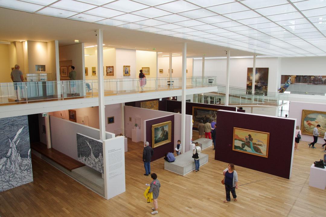 Intérieur du Musée MuMa au Havre