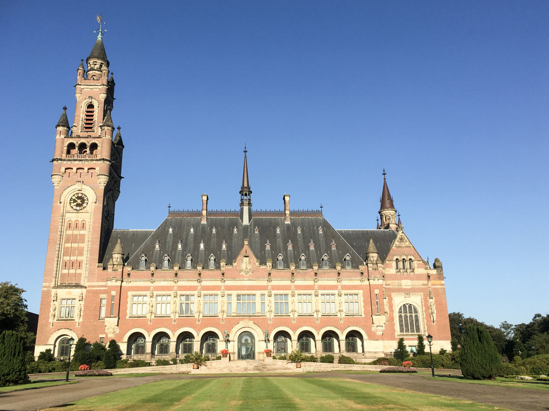 Le Palais de la Paix à La Haye
