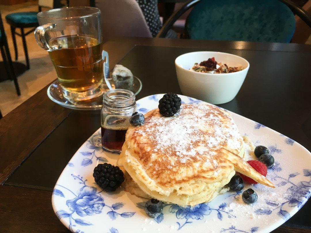 Pancakes - hôtel Indigo à La Haye