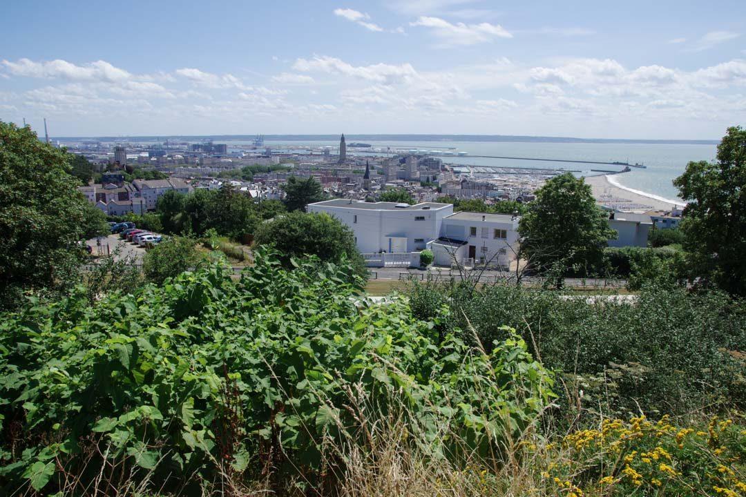 Panorama sur la ville du Havre