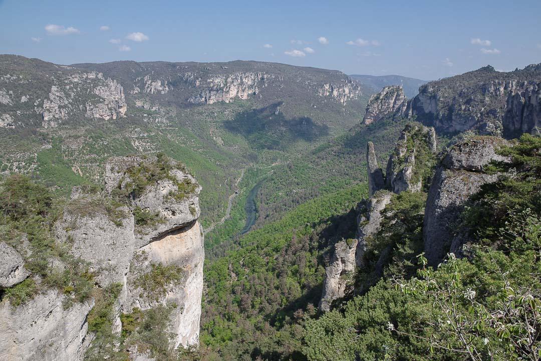Randonnée de la corniche des Gorges du Tarn et de la Jonte