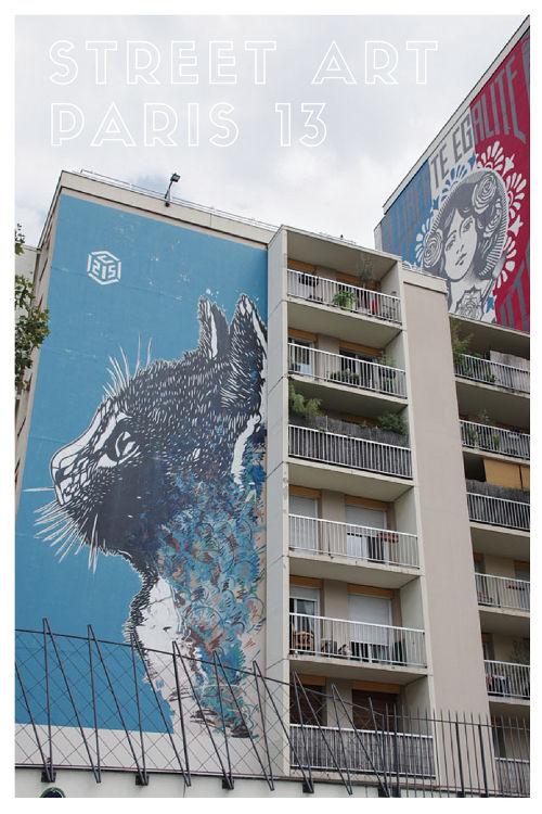 Balade street art dans le 13ème arrondissement de Paris
