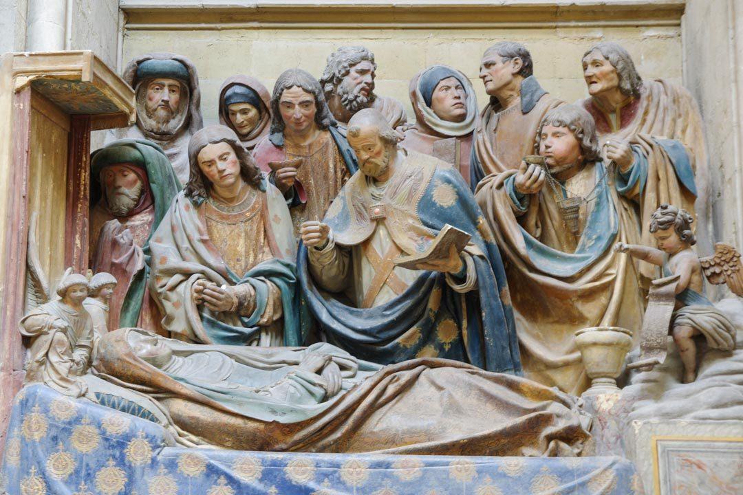 Dormition de la Vierge - Abbatiale de Fécamp
