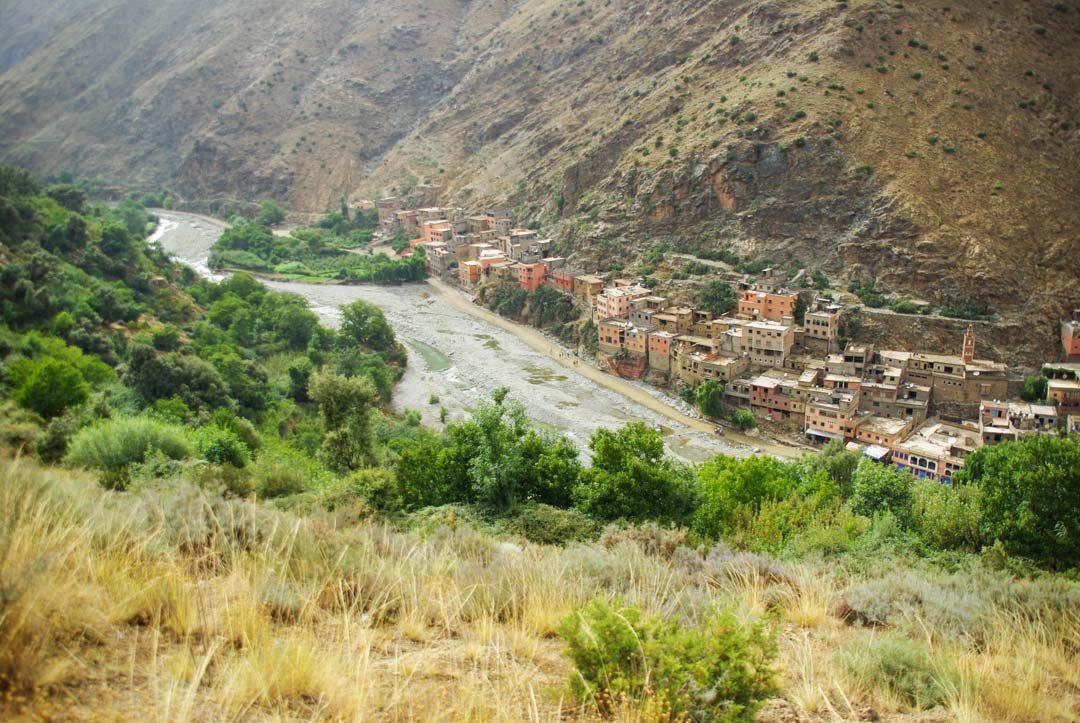 Village dans la vallée de l'Ourika