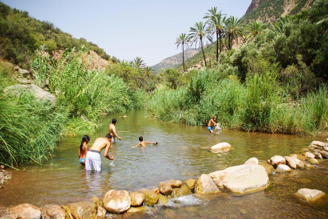 la Vallée du Paradis au Maroc