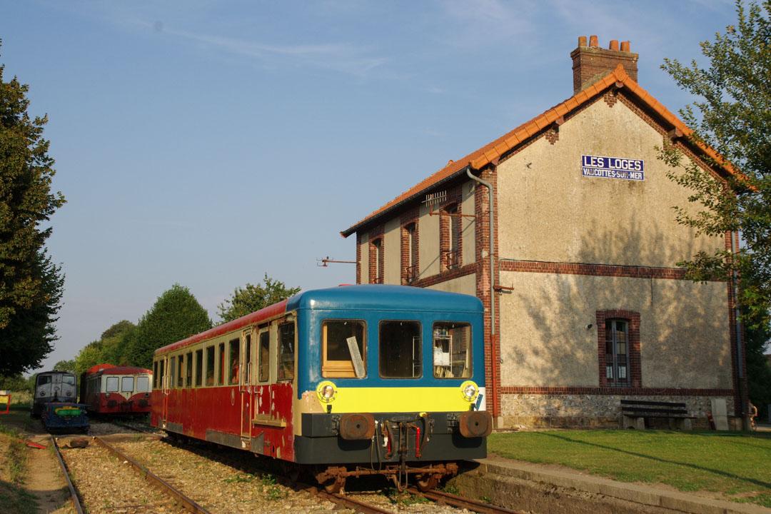 la gare des Loges près d'Etretat