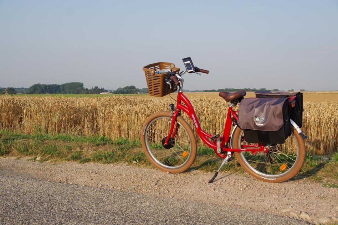 véloroute du littoral en Seine Maritime - vélo Coffee Bike
