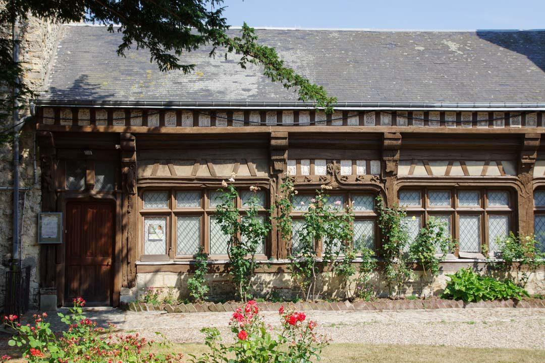 Maison ancienne dans le centre-ville de Fécamp
