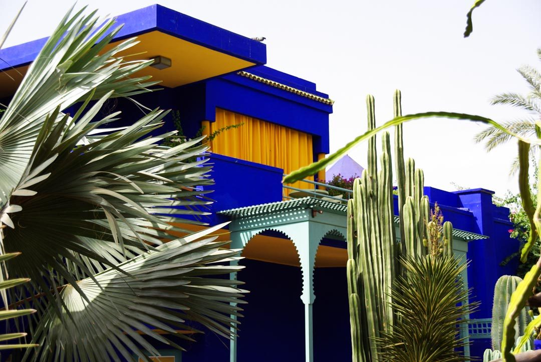 Le jardin Majorelle - Marrakech