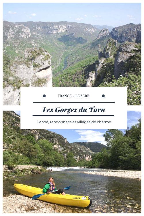 Lozère : que faire dans les Gorges du Tarn ? Proposition de randonnées, descente des Gorges en canoë et quelques beaux villages à découvrir !