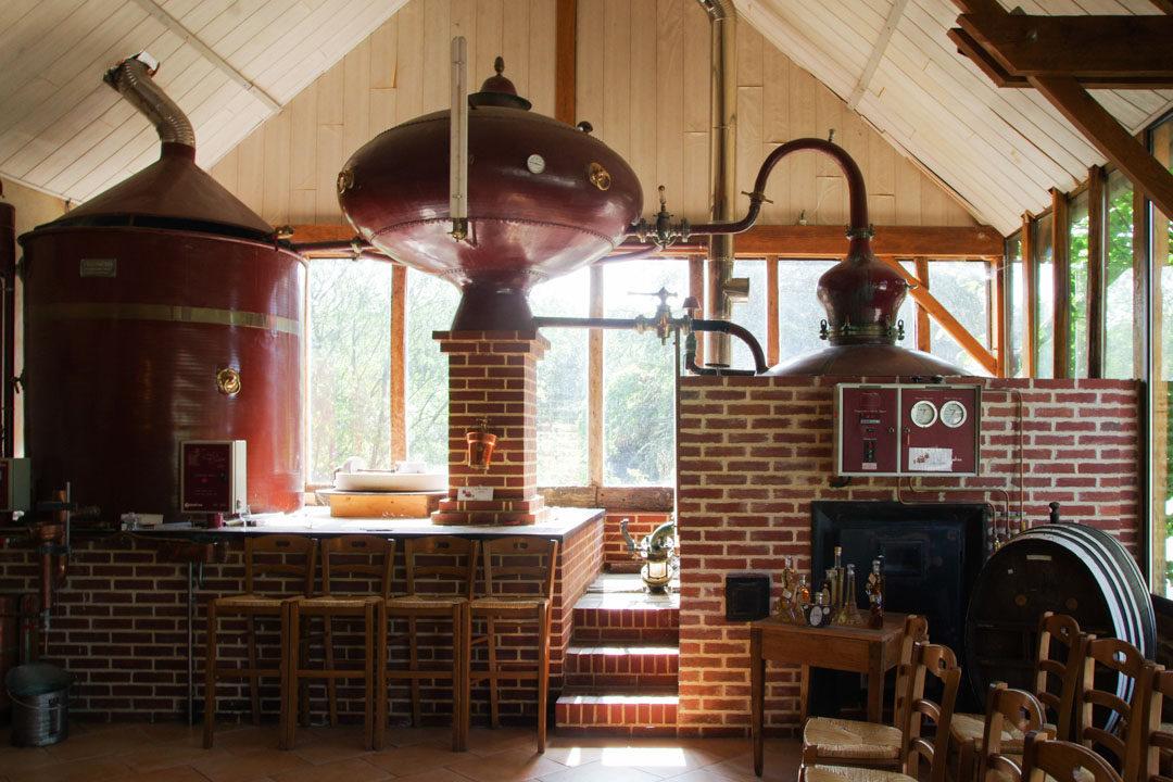 Alambic pour la distillation du calvados