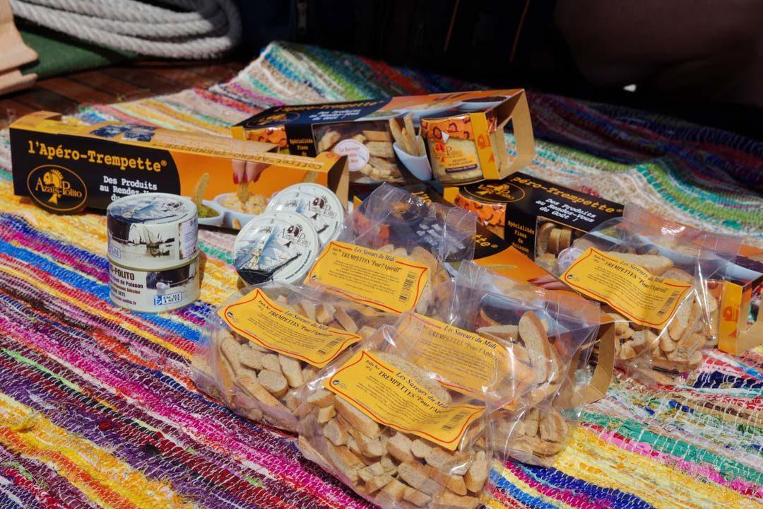 Les produits de la conserverie artisanale Azais Polito