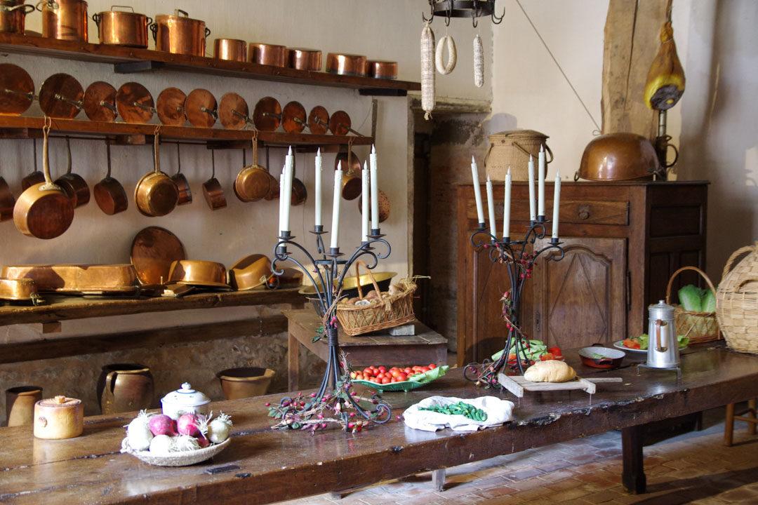 les cuisines du chateau de carrouges