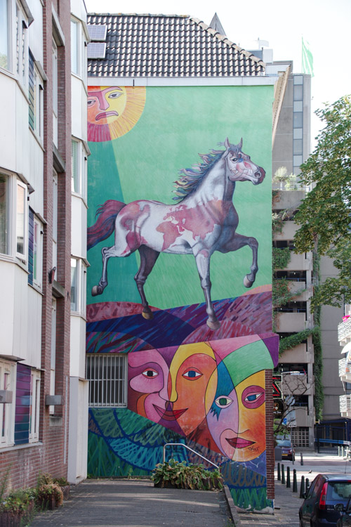Balade Street-Art dans Rotterdam