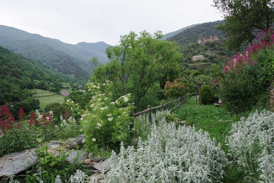 jardin - village d'Evol
