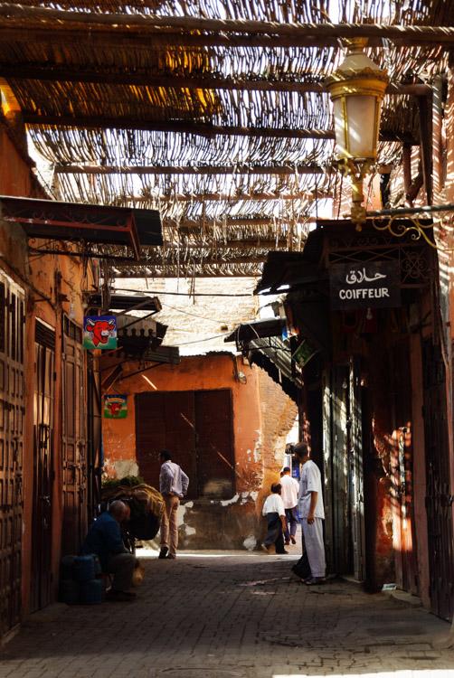 balade dans la medina de Marrakech