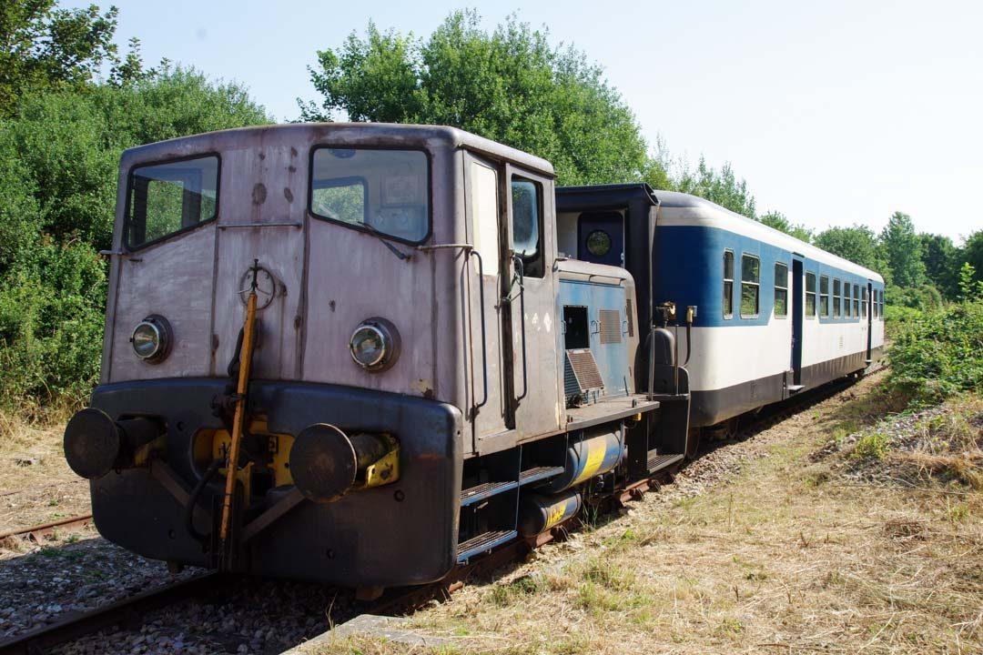 la micheline du train touristique d'Etretat