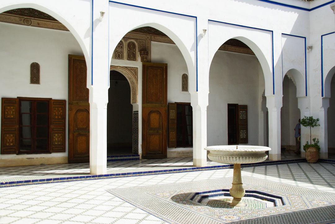 Patio - Palais de la Bahia