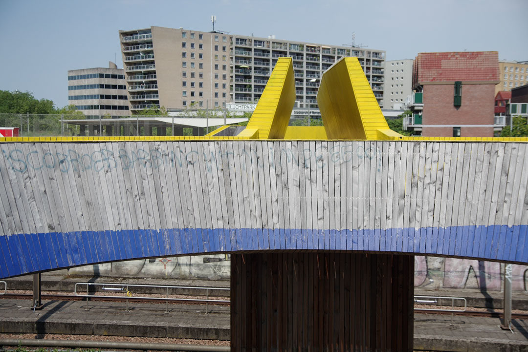 Passerelle Luchsingel Rotterdam