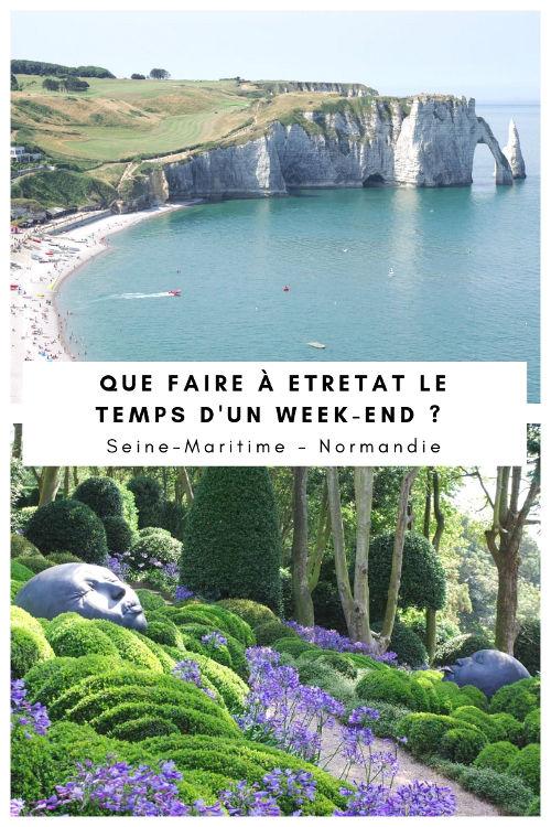 Que visiter à Etretat en un week-end ?
