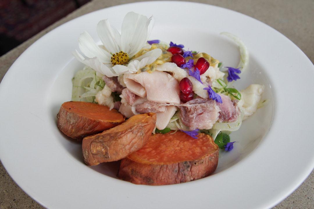 Salade de patates douces - Op Het Dak