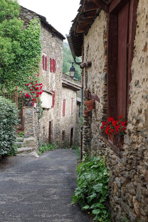 village d'Evol - Pyrenees Orientales