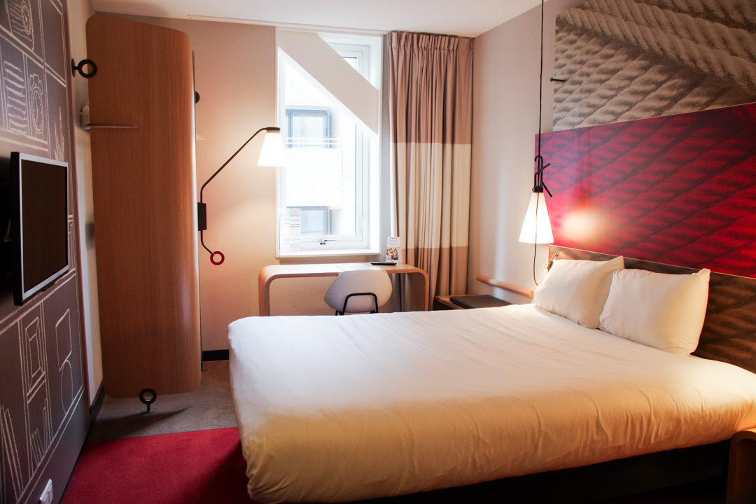 Chambre hôtel Ibis à Rotterdam