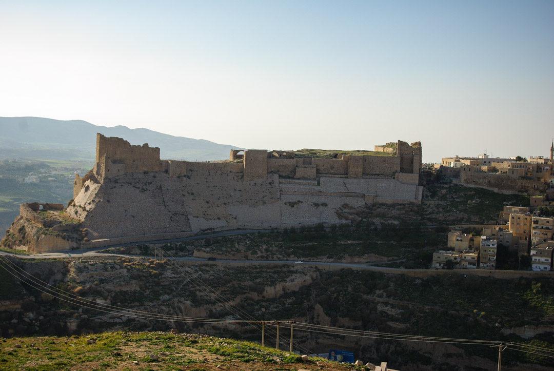 Panorama sur le chateau de Kerak