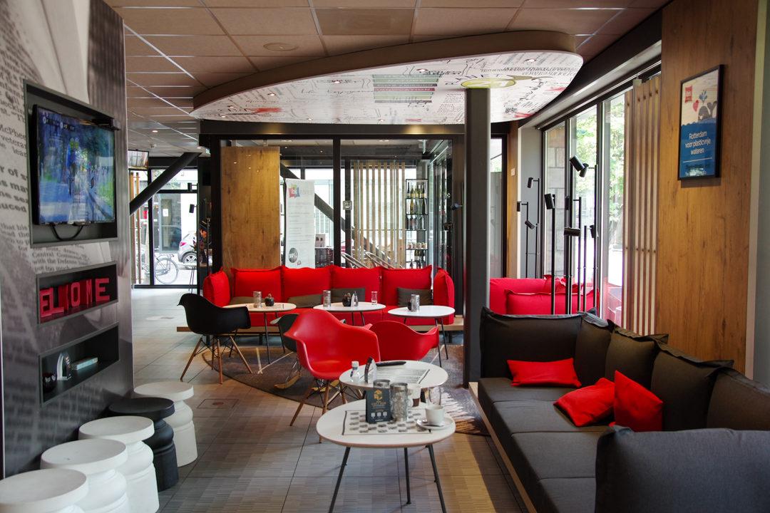 le Lobby de l'hôtel Ibis Rotterdam