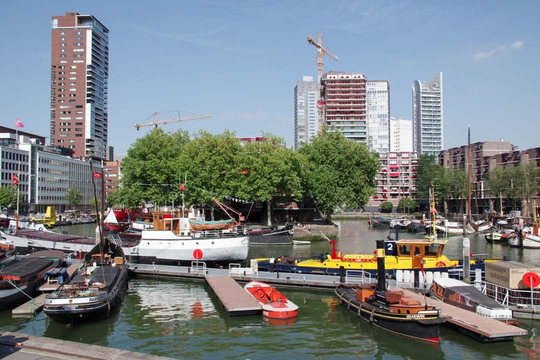 le musée maritime de rotterdam