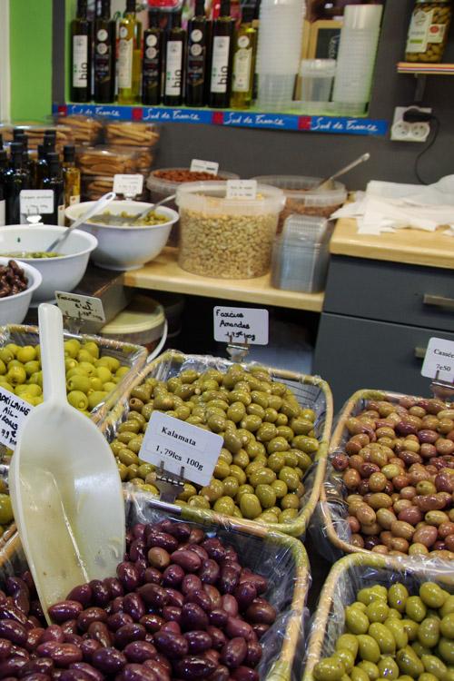 olives - Halles de Sète