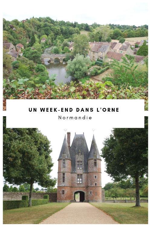 Carnet de voyage pour un week-end gourmand et culturel dans l'Orne