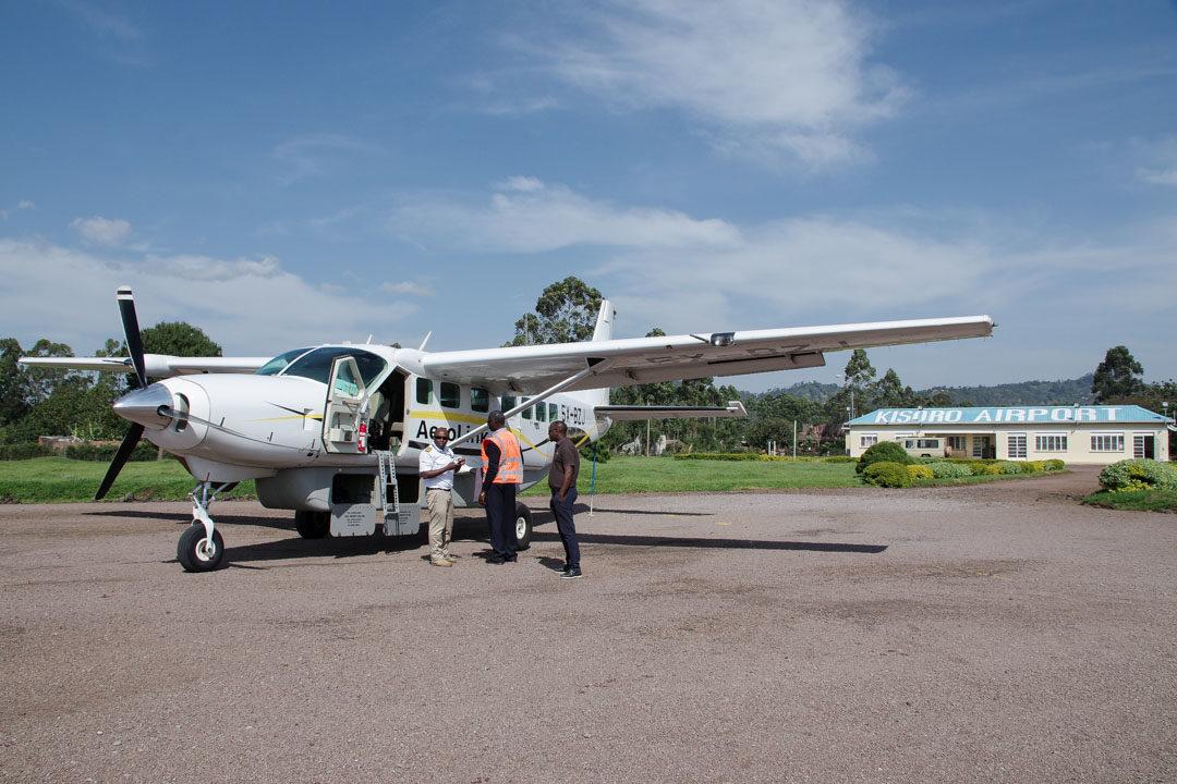 Aeroport de Kisoro en Ouganda