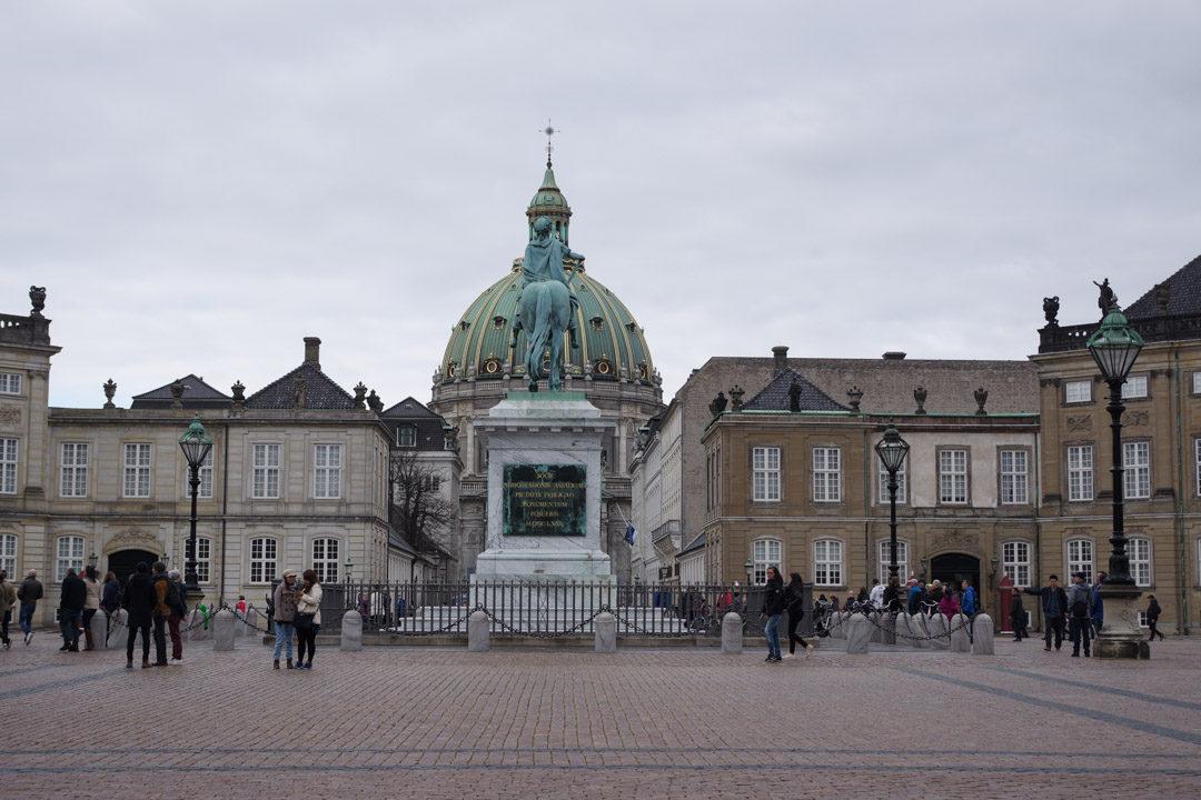 Chateau Amalienborg - Copenhague
