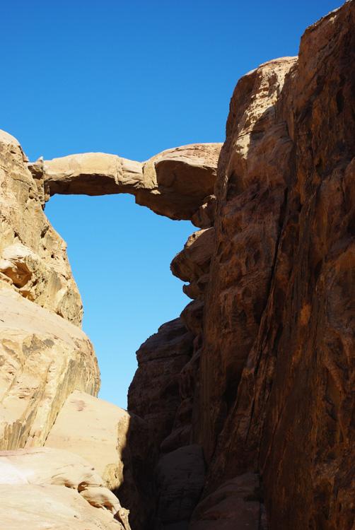 Arche dans le Wadi Rum