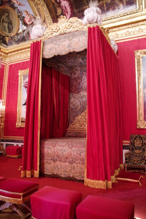 la chambre du Roi - Chateau de Versailles