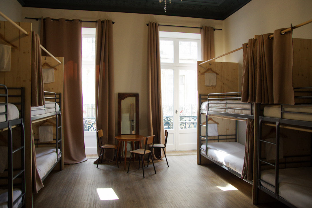 Dortoir du Georges Hostel à Sète