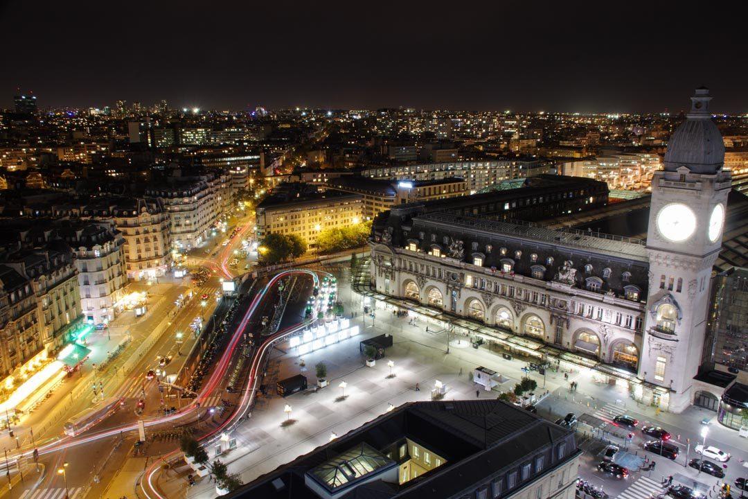 Gare de Lyon la nuit