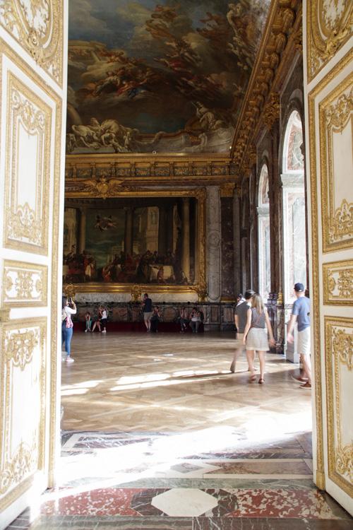visite des grands appartements du chateau de Versailles