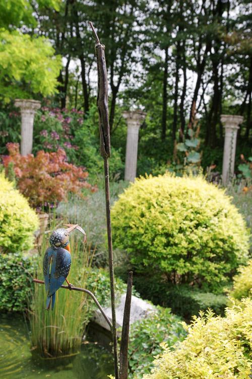 Détail des jardins de la mansonière