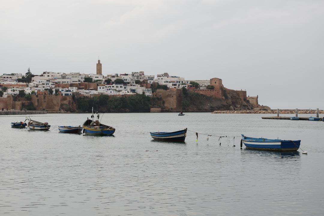 Rabat : vue sur la Kasbah des Oudayas